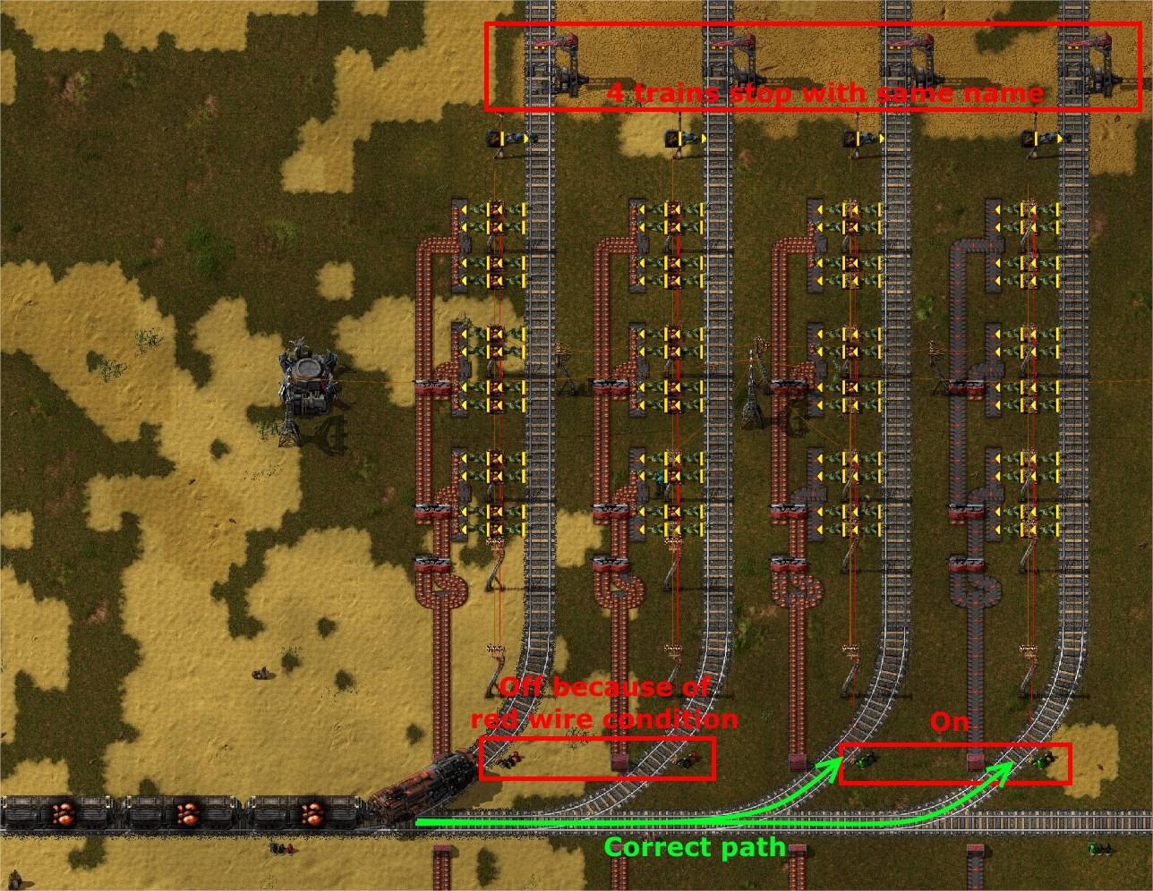 0 13 9] Train path finding ignore Red Train signal